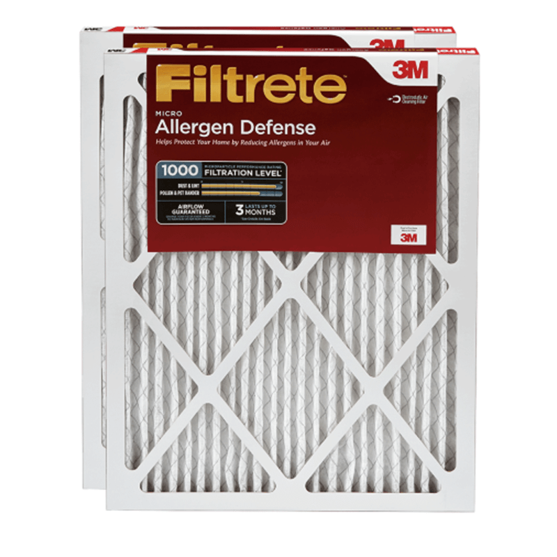 20 x 24 x 1 Filtrete Micro Allergen 1000 product photo Front View thumbnail