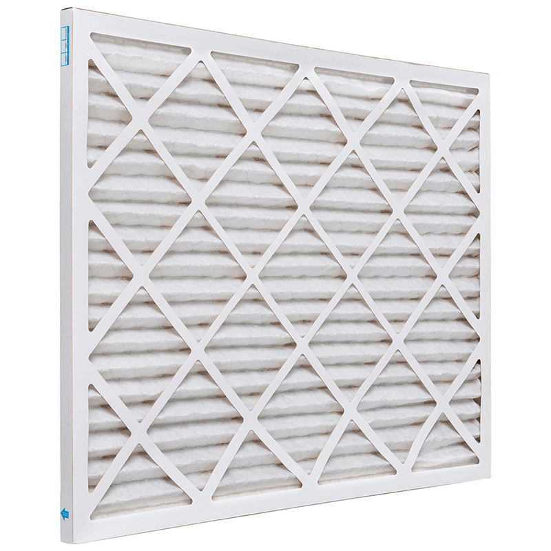 12 3/4 x 26 x 1 Premium MERV 8 Pleated Air Filter product photo Side View thumbnail