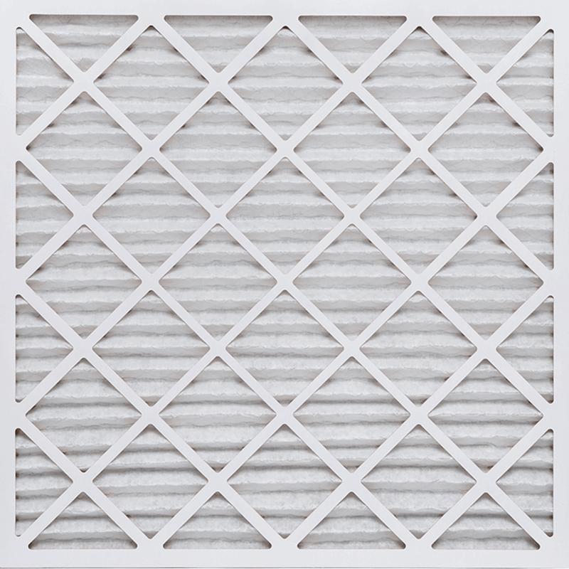 15 1/2 x 24 1/2 x 1 Premium MERV 8 Pleated Air Filter product photo