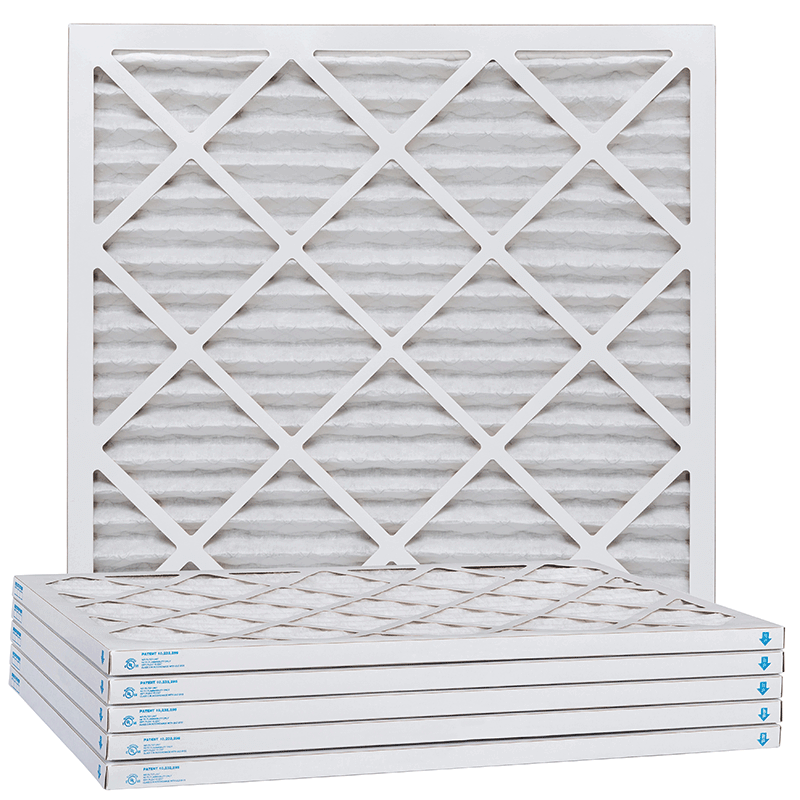 18 x 30 x 1 MERV 11 18 x 30 x 1 Commercial Water Dist Pack of 6 P15S-611424-6-PACK ReplacementBrand P15S-611830-6-PACK P15S-611830 Pleated Air Filter Pleated Fabric