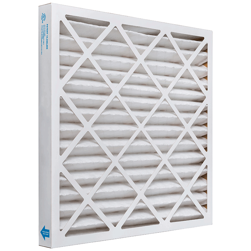 16 x 16 x 2 MERV 11 Pleated Air Filter product photo Side View thumbnail